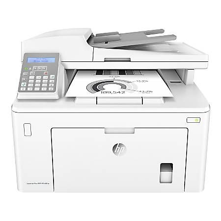 Hp Laserjet Pro M148fdw All In One Wireless Monochrome Laser Printer With Auto Two Sided Printing Mobile Printing Fax Bu Mobile Print Laser Printer Printer