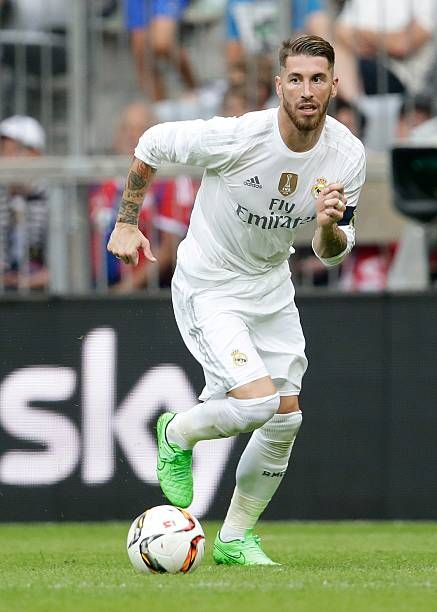 Sergio Ramos Of Real Madrid During The Audi Cup Match Between Real Real Madrid Sergio Ramos Madrid
