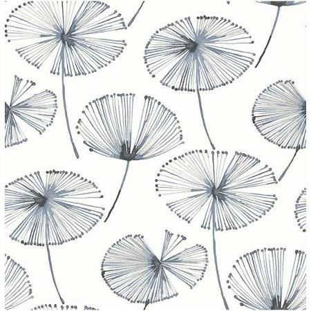 Navy Blue Frond Wallpaper Google Search Nuwallpaper Peel And Stick Wallpaper A Street Prints