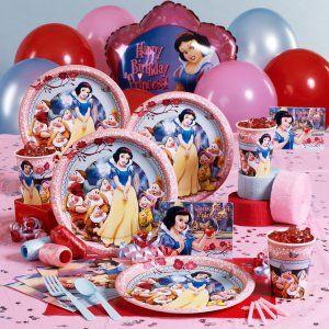 Snow White Party Supplies Festa Infantil Branca De Neve Festa