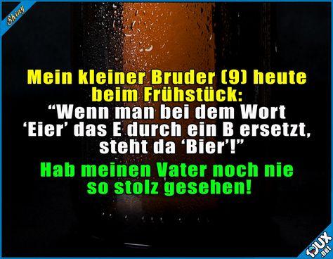 Er könnte nicht stolzer sein ^^  Lustige Sprüche und Bilder #Humor #lustig #Sprüche #lustigeSprüche #lustigeBilder #Jodel #Memes #Bier
