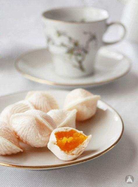 """Ovos Moles"" sweets from Aveiro, Portugal (via Una mosca en la luna)"