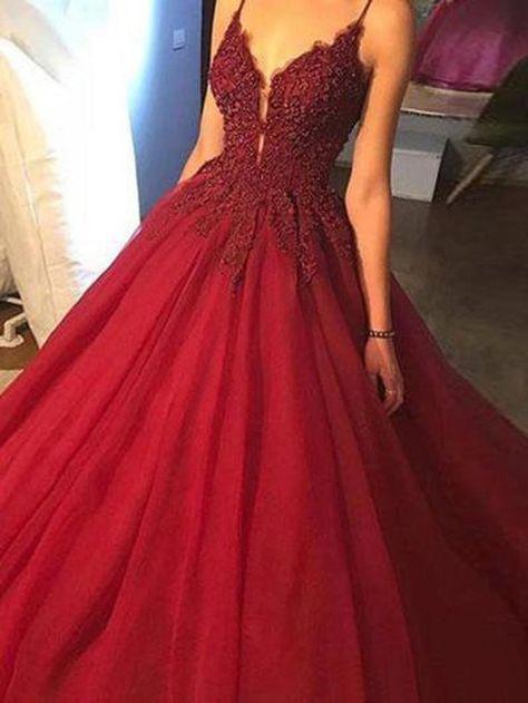 Cute Prom Dresses, V Neck Prom Dresses, Ball Gowns Prom, Ball Gown Dresses, Tulle Dress, Pretty Dresses, Sexy Dresses, Evening Dresses, Ball Gowns Evening