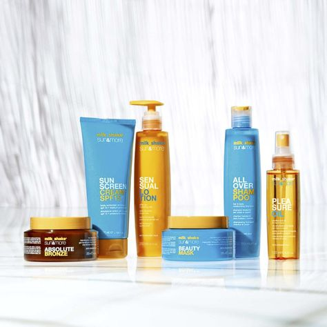 milk_shake sun&more: 6 amazing products to protect hair and skin from the damaging effects of sun, salt, and chlorine!