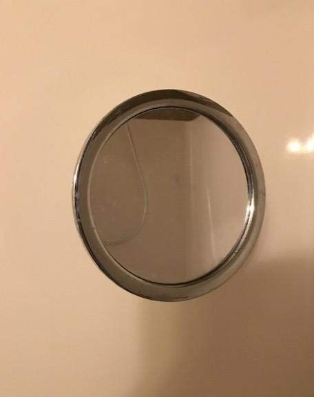 Shower Shaving Mirror Fogless Shower Mirror Fog Free with Squeegee Not to Fall