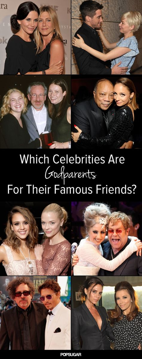 Which Celebrities Have Celebrity Godparents?