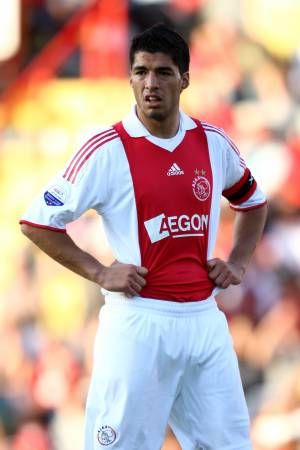 super popular 19907 decf7 Luis Suarez of Ajax Amsterdam in 2009. | 2000s Football ...