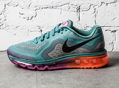 a741826c Nike Air Max 2014 - Atomic Orange - Forest Green - SneakerNews.com ...