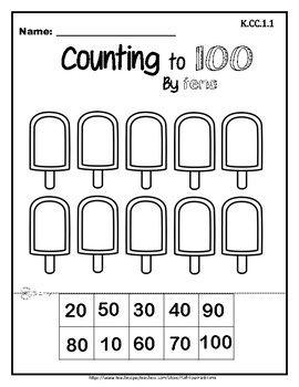 Count To 100 By Tens And Ones Kindergarten Addition Worksheets Kindergarten Worksheets Kindergarten Math Counting Kindergarten counting by tens worksheets