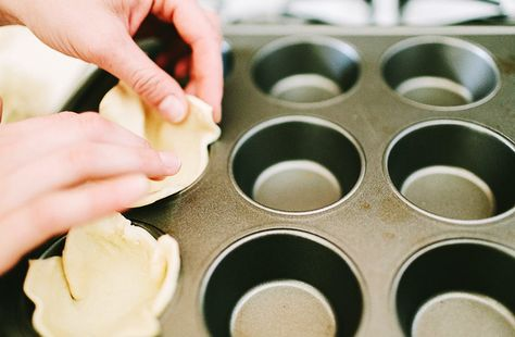 TIP: Press Phyllo dough into a greased muffin tray and fill with... well... what ever sounds #delicious. Then bake!