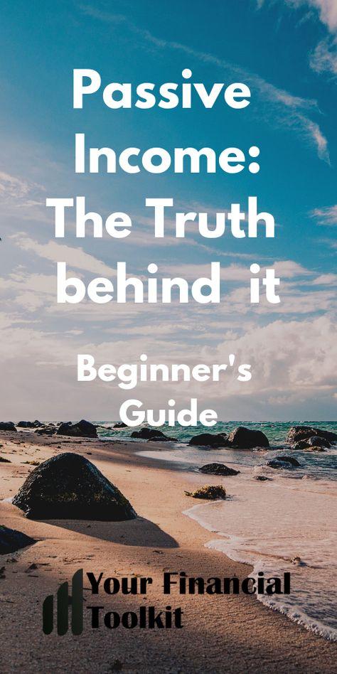 Passive Income Beginner's Guide