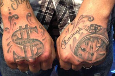 money tattoos 19