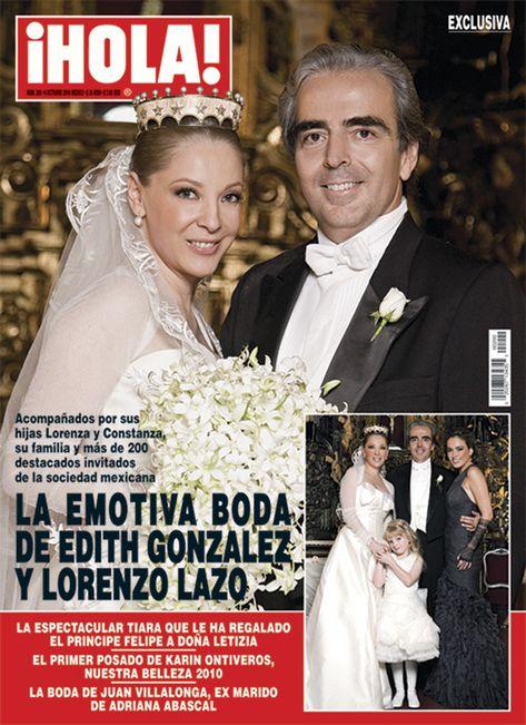 Amor eterno: Así fue la historia de amor entre Edith González y Lorenzo Lazo