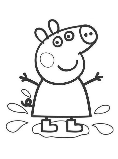 Dibujos Para Colorear De Peppa Pig E1549941269536 Dibujo De