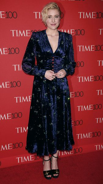 Greta Gerwig attends the Time 100 Gala in NYC.
