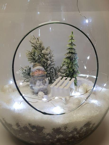 Znalezione Obrazy Dla Zapytania Swiateczny Las W Szkle Snowglobes Crafts Decor