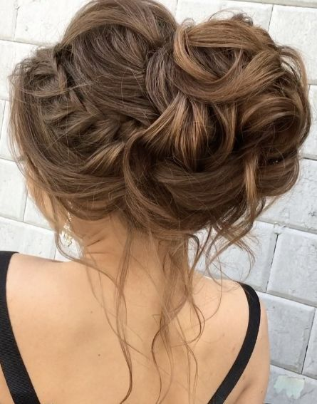Featured Hairstyle Elstile Www Elstile Ru Wedding Hairstyle Idea Hair Styles Messy Hair Updo Debs Hairstyles