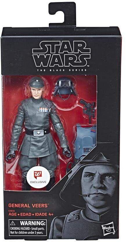 """Hasbro Star Wars The Black Series GENERAL VEERS 6"""" Figure Walgreens Exclusive"""