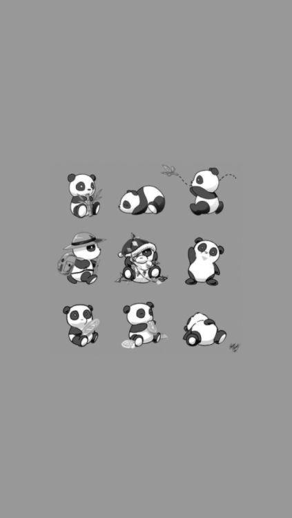 Pin Oleh Pedro Archuleta Di Craft Bayi Panda Beruang Panda Drawing