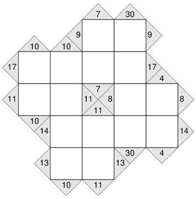 Free Printable Kakuro Puzzles Math Puzzles Maths puzzles, Sudoku