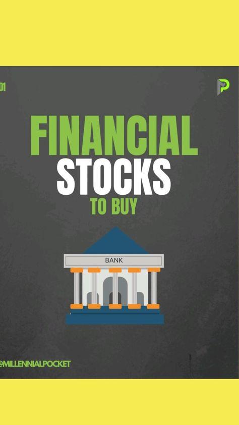 financial stocks to buy