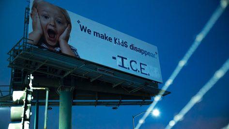 Make Kids Disappear I C E Trump Kids Trump Protest Billboard