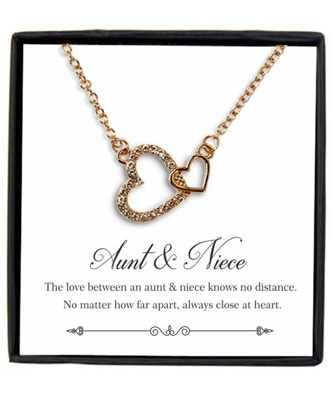 Aunt And Niece Necklace