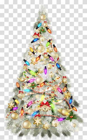 Fully Decorated Christmas Tree Illustration Christmas Tree Christmas Day Christmas Silver Dec Christmas Tree Clipart Christmas Ornament Frame Christmas Tree Christmas tree background hd png