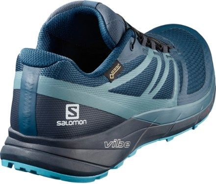 Salomon Men/'s Sense Ride2 GTX Invisible Fit Trail Running Shoes