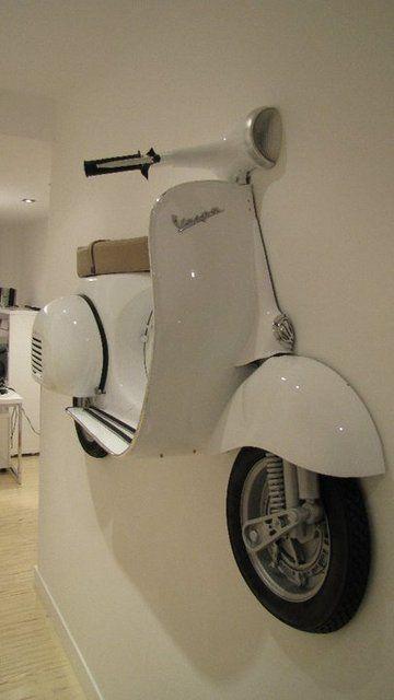 Vespa Wall Piaggiovespa Vespa Wall In 2020 Vespa Automotive Decor Car Part Furniture