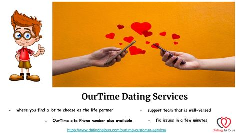 OurTime Dating Services