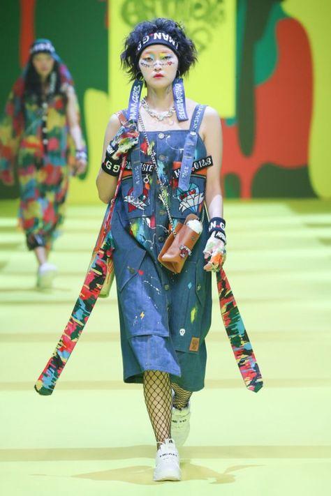 SFW : Seoul Fashion Week GRAPHISTEMAN.G SS19 #koreanfashion #korean #fashion #week