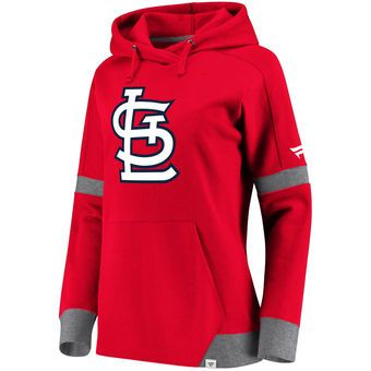 innovative design 32cd6 01362 Fanatics Branded St. Louis Cardinals Women's Red/Gray Iconic ...