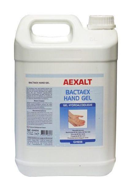 Aexalt Bidon De 5 L Gel Main Hydroalcoolique Bactaex Hand Gel
