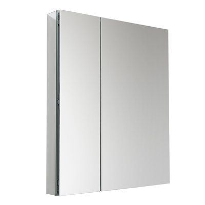 Fresca Senza 30 X 36 Recessed And Surface Mount Medicine Cabinet Recessed Medicine Cabinet Surface Mount Medicine Cabinet Adjustable Shelving