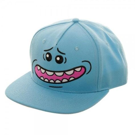 Rick and Morty TV Series Officially Licensed WUBBA Snapback Hat Cap Adult Swim