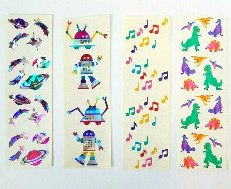 Mrs Books Grossman's Stickers 3 Strips
