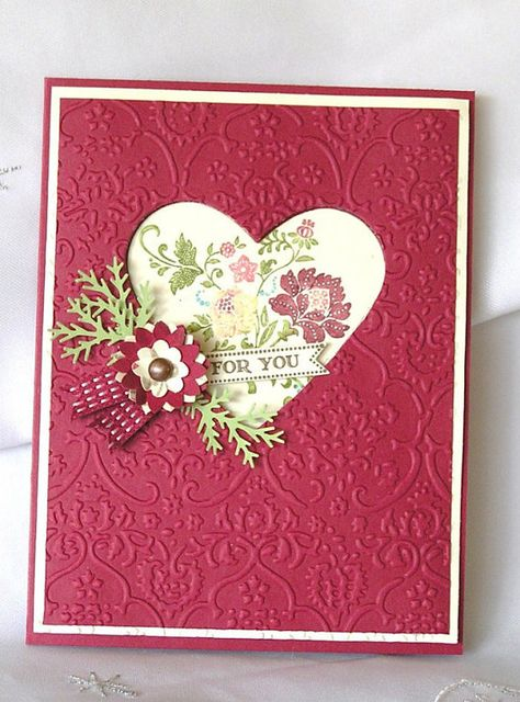 Stampin Up Handmade Greeting Card For You by JulieAnnesTreasures, $5.00