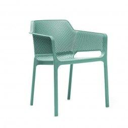 Nardi Net Stapelsessel Kunststoff Turkis Sessel Ecksofa Gartenstuhle
