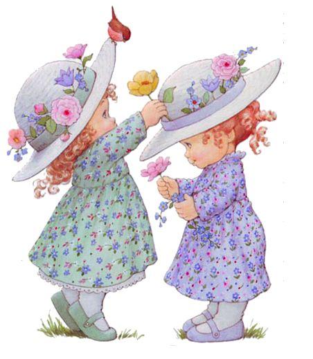 Пожелания спокойной, открытки девочки двойняшки