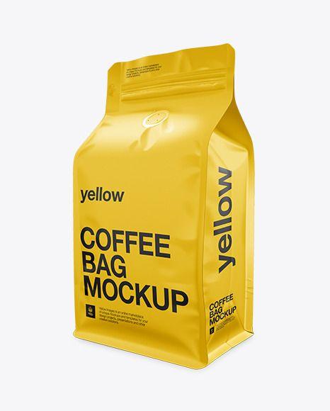 Download Download Coffee Bag Mockup Half Side View Mockup Free Psd Free Psd Mockups Templates Mockup Psd