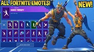 New Epic Employee Skin Showcase With All Fortnite Emotes Dances