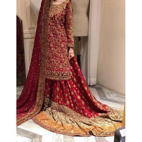 Barat dress inspo ( designer is haris shakeel )