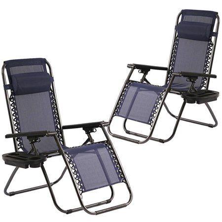 Patio Garden Gravity Chair Zero Gravity Chair Folding Chair