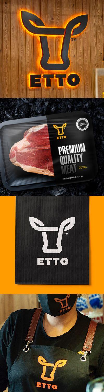 Visual Identity for ETTO Meat Brand by Alexey Lysogorov - World Brand Design Society