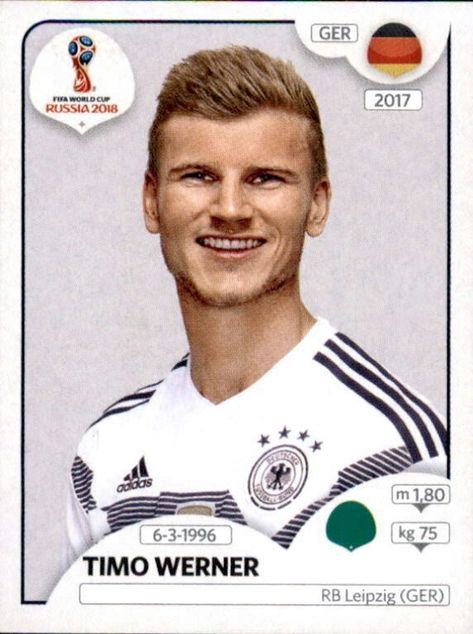Timo Werner Germany Football Germany Russia Worldcup2018 Profoot Dfb Nationalmannschaft Fifa Weltmeisterschaft