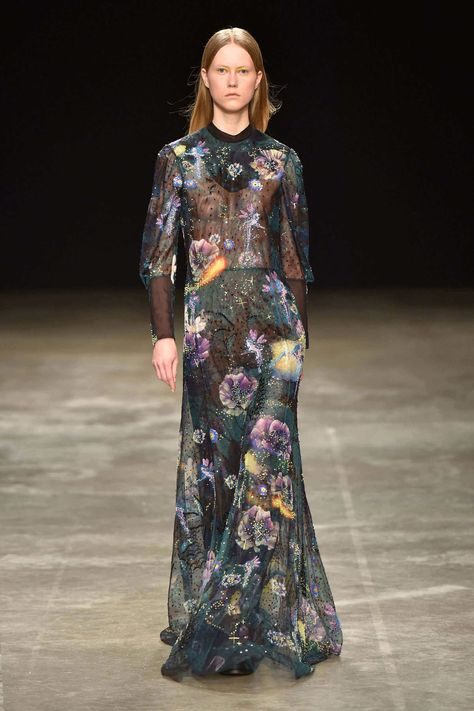 Katrantzou transports to lands of Disney with AW 17 collection