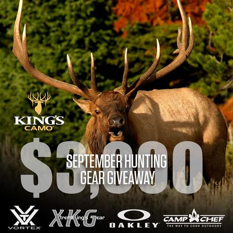 09-30-2016 ... King's Camo $3,000 Gear Giveaway
