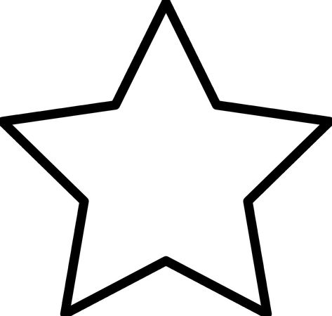 Star Template Free Download Star Coloring Pages Star Template
