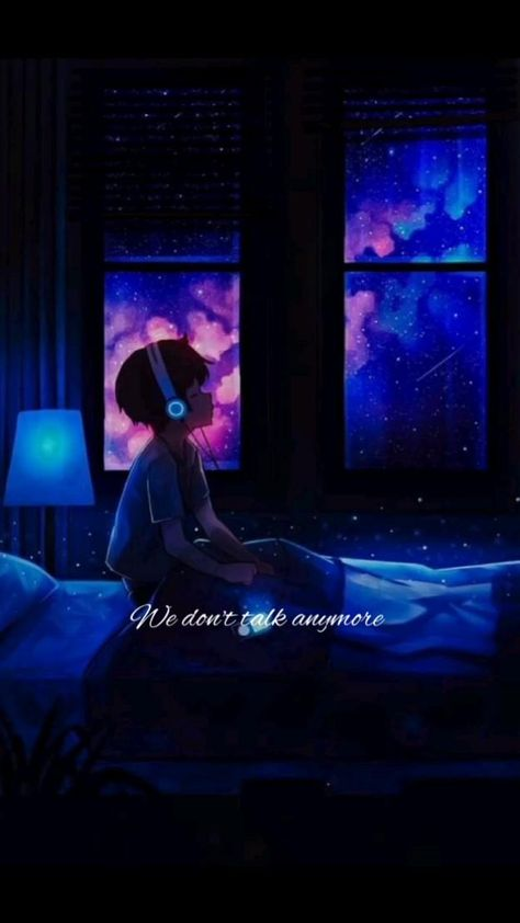 we don't talk anymore....💙